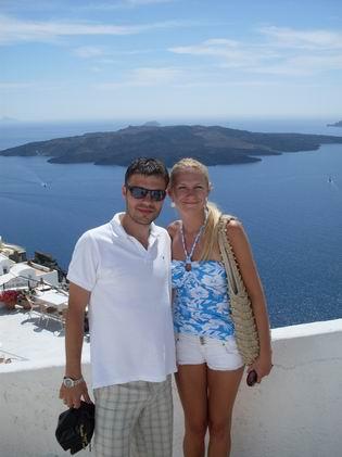 Dominika{{_AND_}}Peter - svadobná cesta Santorini