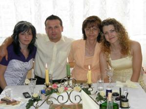 jeho sestrička a moja mamička
