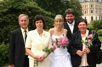 moje rodiče a ženichova maminka