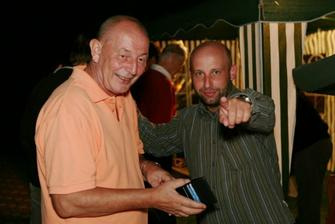 Náš fotograf Vláďa a František alá DJ Frank