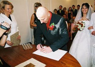 svěděk ženicha kamarád Zdenda