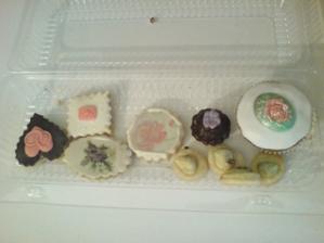 koláčky, minizákusky