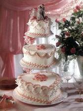 Náš svatební dortík.