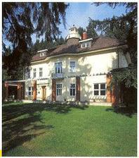 Baťova vila - tady bude svatební obřad