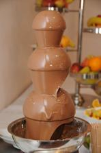 cokoladova fontana aj ta bude