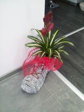 ešte jedna kvetinková topánočka