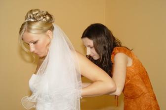 Přípravy na ženicha