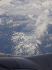 byl super výhled let na Djerbu květen 2005, první společná dovolená