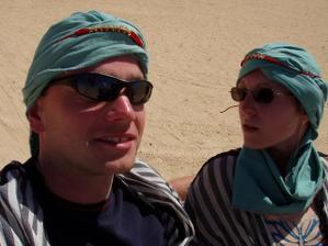 Beduíni :-) vydali jsme se do Sahary.
