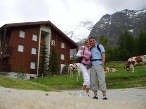 nejvyhledávanější lyžařské středisko Saas Fee 1800m