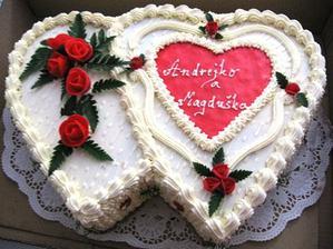 zásnubná torta od svokrovcov