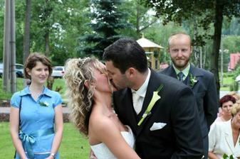 první novomanželská:)