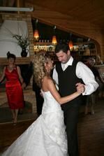 první svatební:)