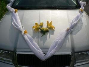detail auta nevěsty