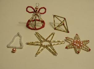 Naše vánoční korálkové tvoření