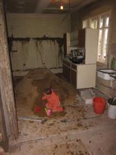 pískoviště uprostřed kuchyně. co víc si přát?