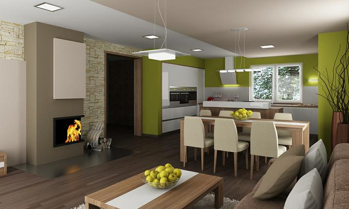Obývací pokoj s kuchyní a jídelnou - Obrázek č. 35