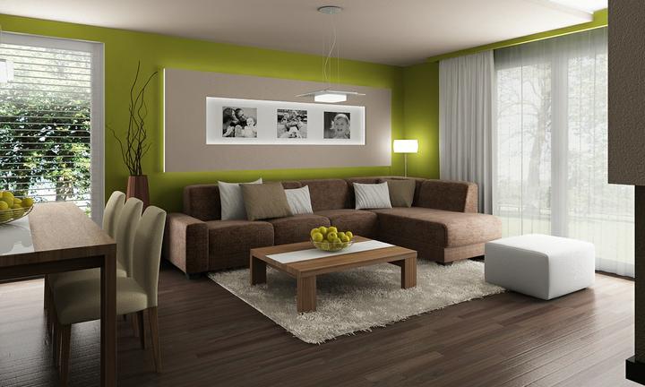 Obývací pokoj s kuchyní a jídelnou - Obrázek č. 34