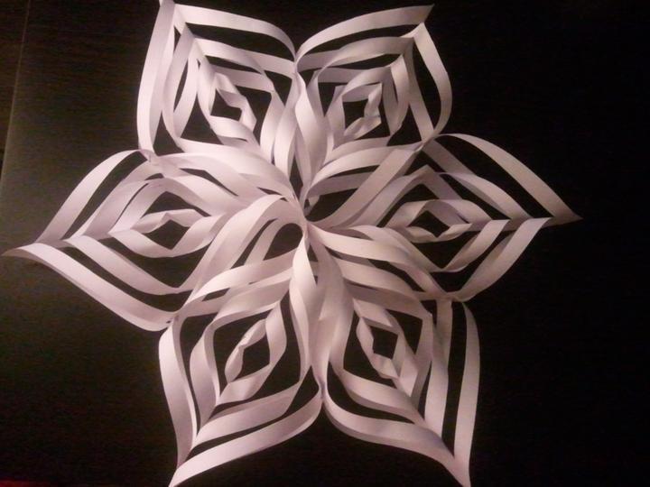 Handmade & vánoce - první vánoční hvězda do oken :-)