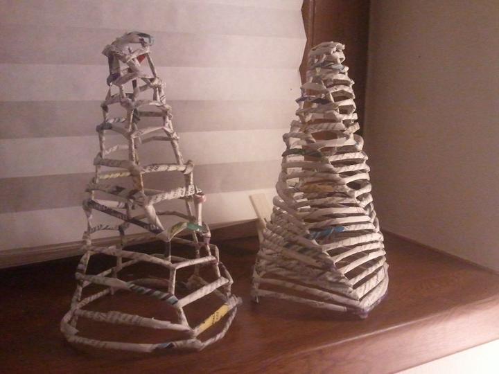 Handmade & vánoce - první zrůdička a druhý pokus :-)