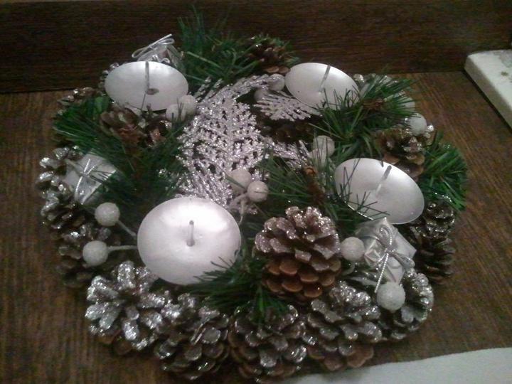 Handmade & vánoce - jaké svíčky? bílé?