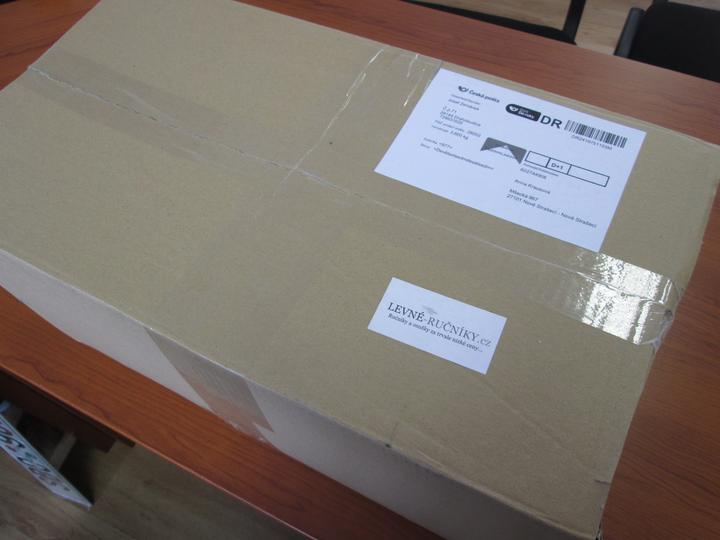Testovací objednávka :-) - přišl pěkně zabalený v krabici