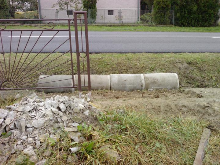 Ako sa stavia sen :D - rúra pre odtok vody