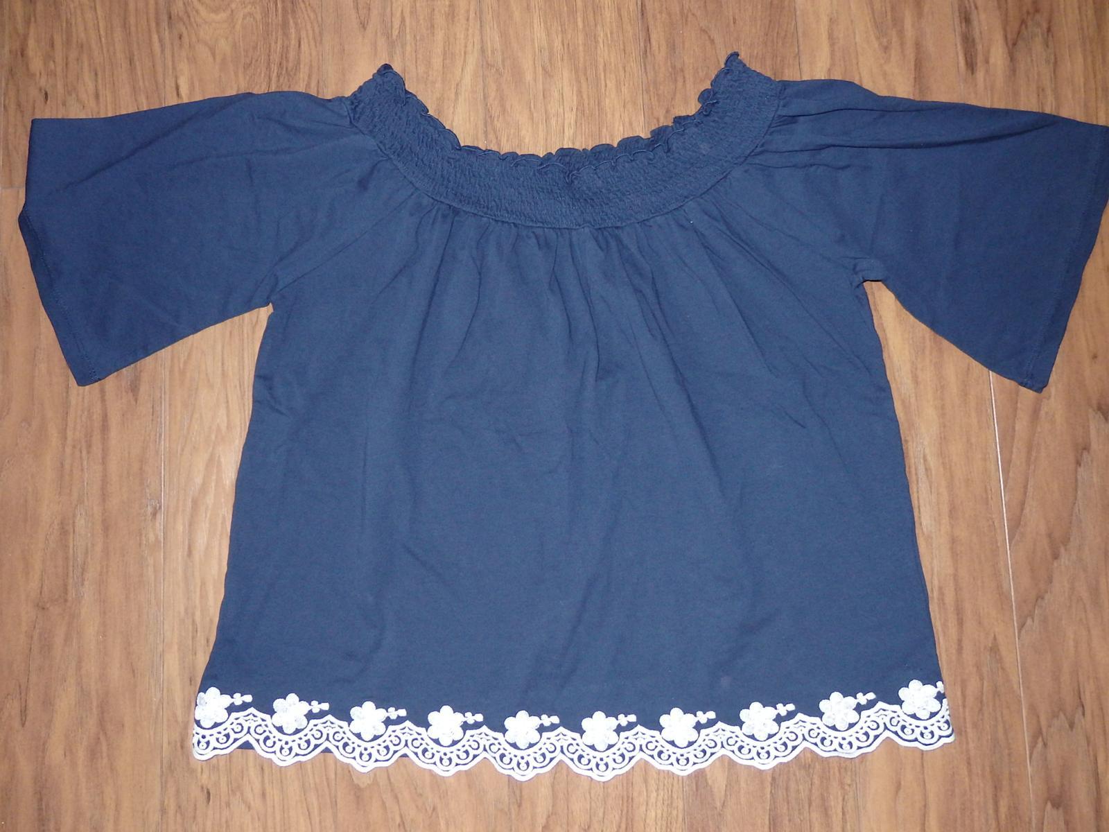 vyšívané tričko / tunika - Obrázok č. 1