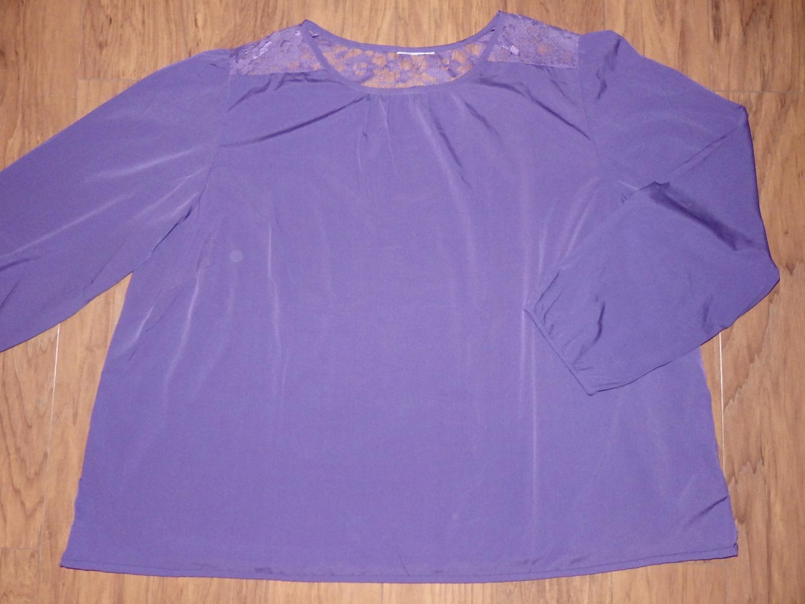 slivkovo fialová blúzka - Obrázok č. 1
