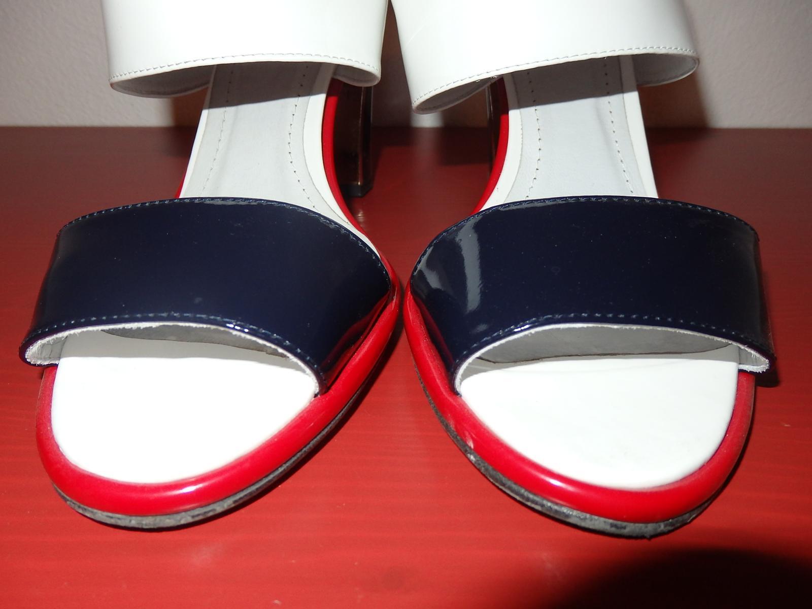 etné lakové sandále - Obrázok č. 4