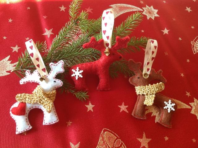 Vianocne ozdoby mojej sestry:) - Obrázok č. 1