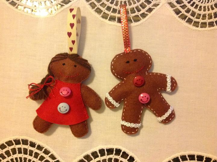 Vianocne ozdoby mojej sestry:) - Obrázok č. 13