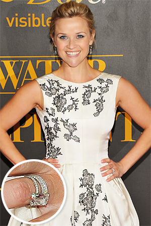 ♣ Celebrity a ich prstienky ♣ - Reese Witherspoon
