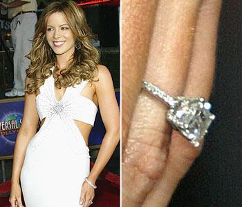 Slavné zásnubní prsteny - Kate Beckinsale