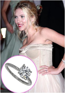 ♣ Celebrity a ich prstienky ♣ - Scarlett Johansson