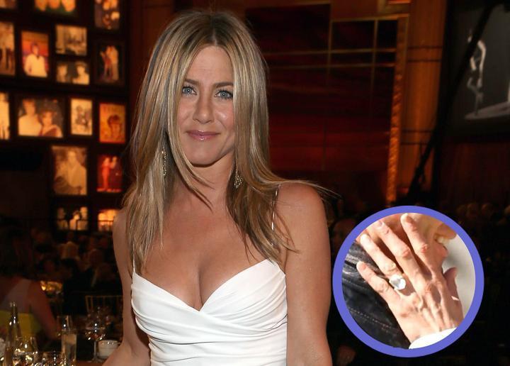 ♣ Celebrity a ich prstienky ♣ - Jennifer Aniston