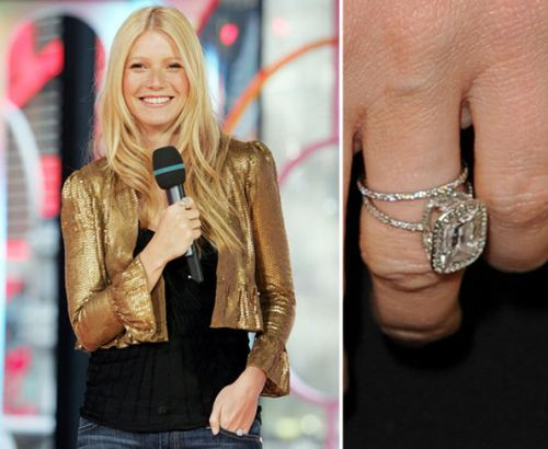♣ Celebrity a ich prstienky ♣ - Gwyneth Paltrow