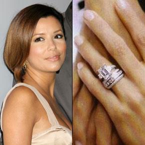 Slavné zásnubní prsteny - Eva Longoria
