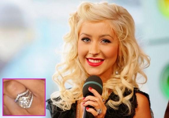 ♣ Celebrity a ich prstienky ♣ - Christina Aguilera