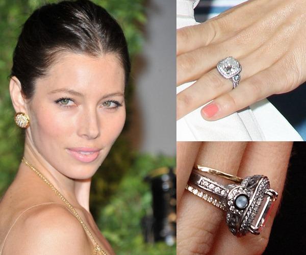 ♣ Celebrity a ich prstienky ♣ - Jessica Biel