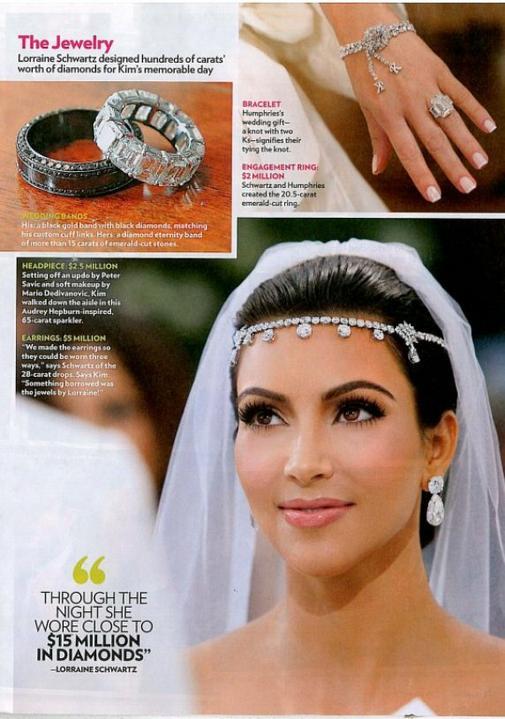 ♣ Celebrity a ich prstienky ♣ - Kim Kardashian