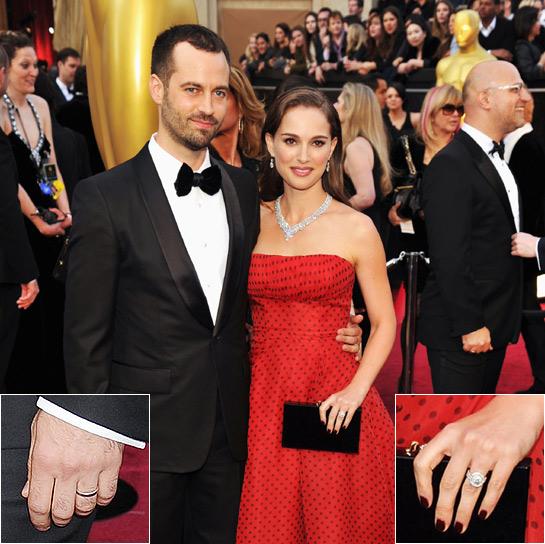 ♣ Celebrity a ich prstienky ♣ - Natalie Portman