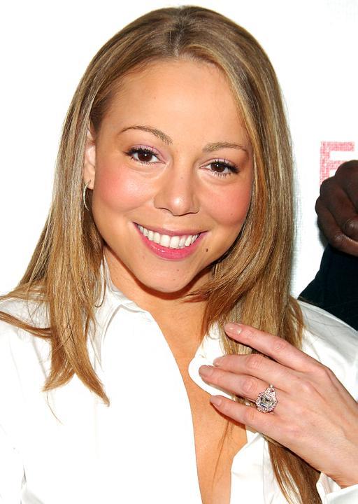 ♣ Celebrity a ich prstienky ♣ - Mariah Carey