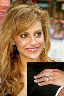♣ Celebrity a ich prstienky ♣ - Brittany Murphy ♥