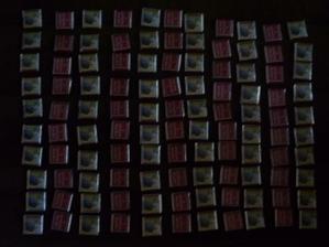A tady už je hodně čokoládek.