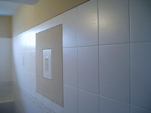 vymalovaná koupelna...