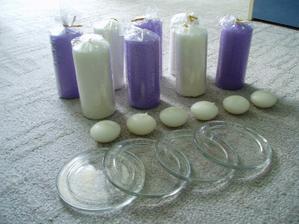 ...zátiší se svíčkami...