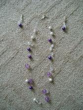 Šperky vytvořené mou svědkyní