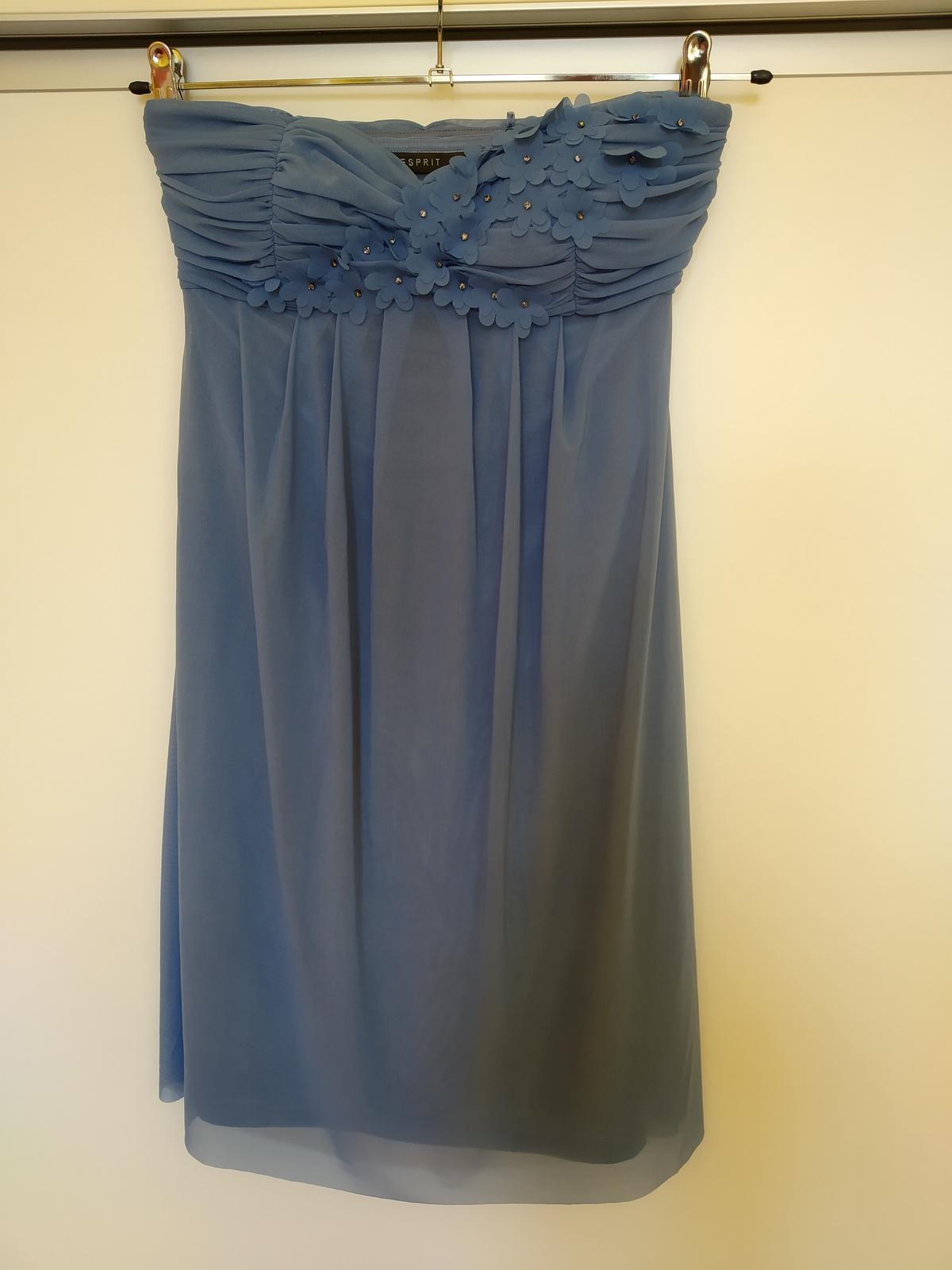 Modré šaty Esprit - Obrázok č. 1