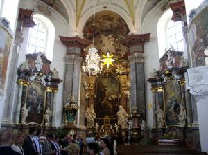 krásná kaple...